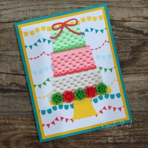lace cake card a