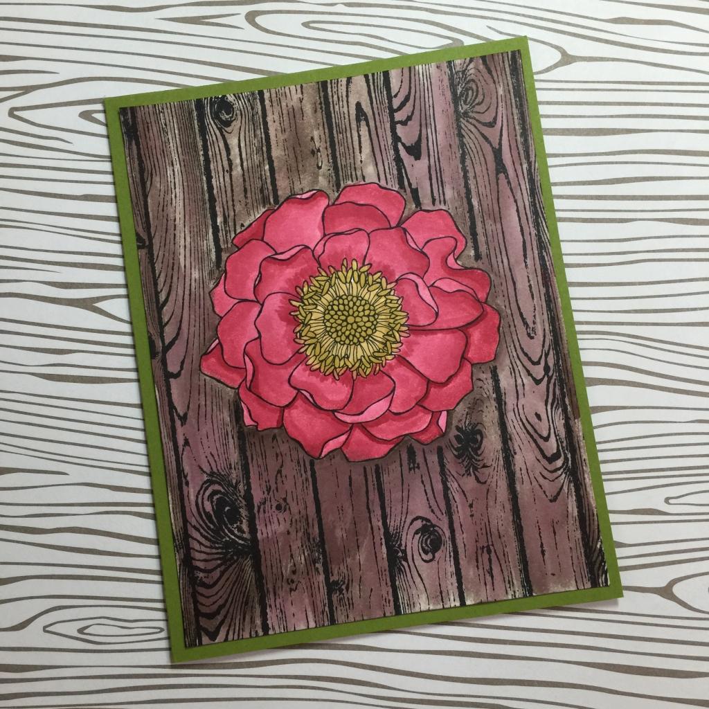 masked blended bloom card a