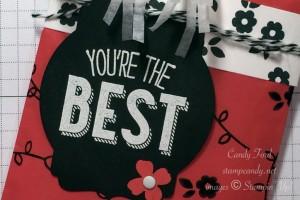 you're the best cotton bag b wm
