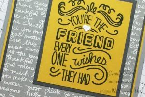 you're the friend card b wm