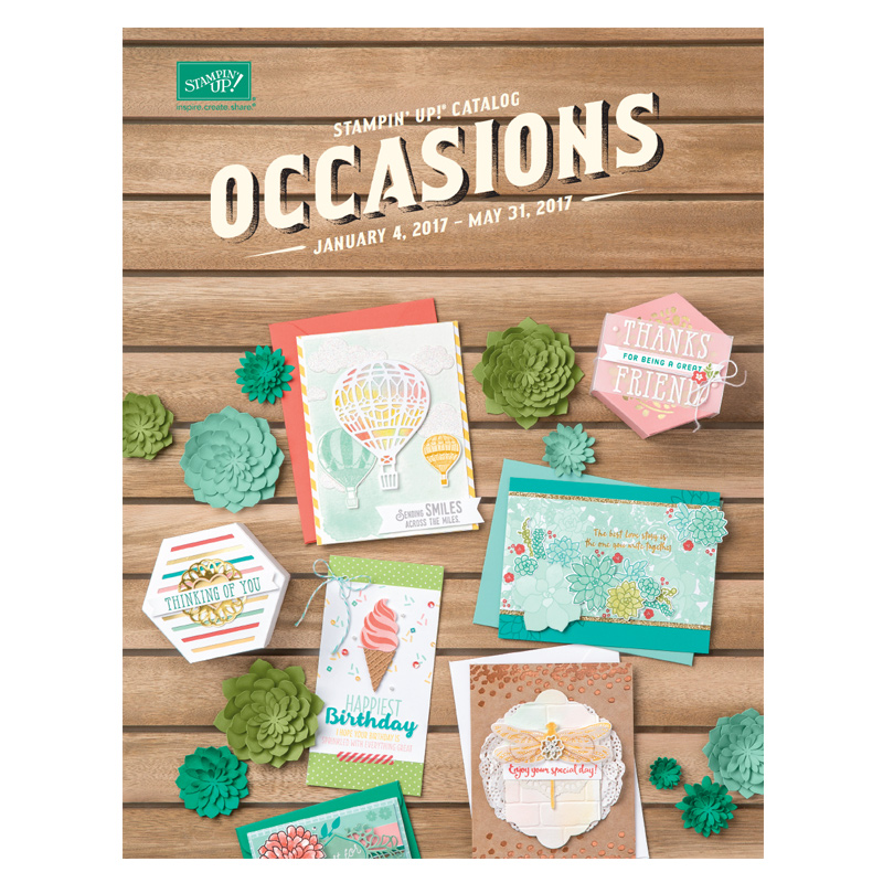 Click here to shop the 2017 Occasions Catalog at my online store! #stampcandy