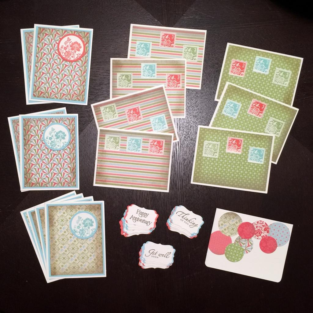 Deborah's mom cards a
