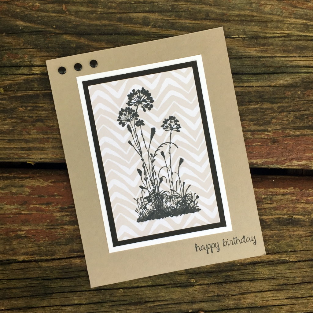 silhouette card 2