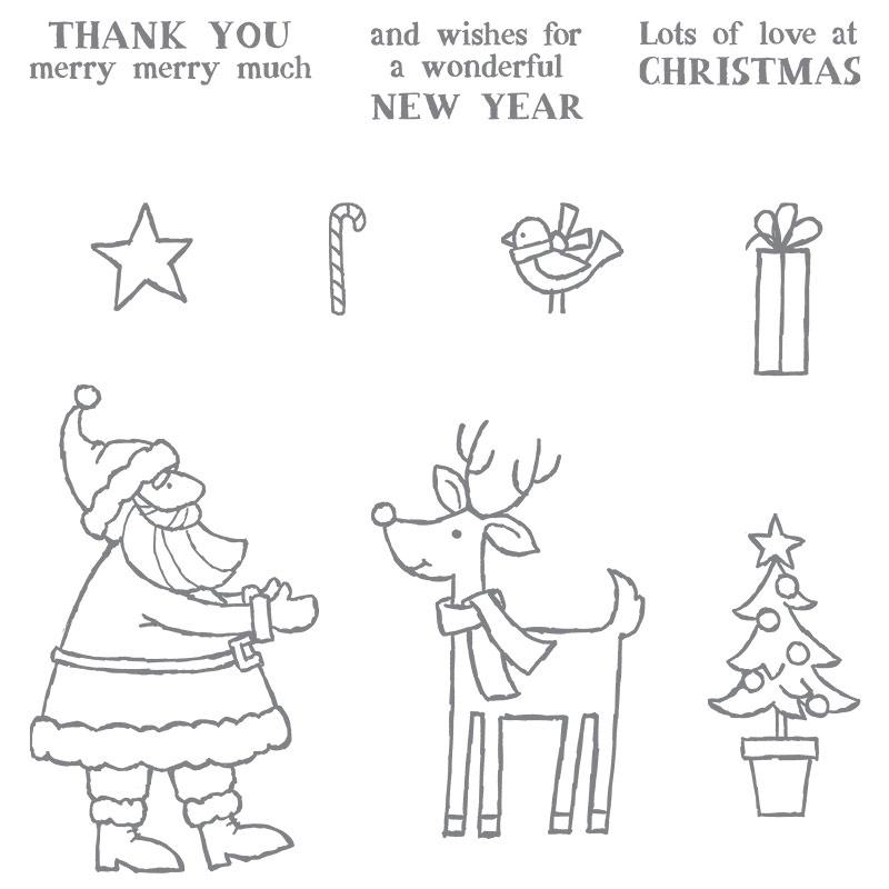 Santa's Gifts stamp set