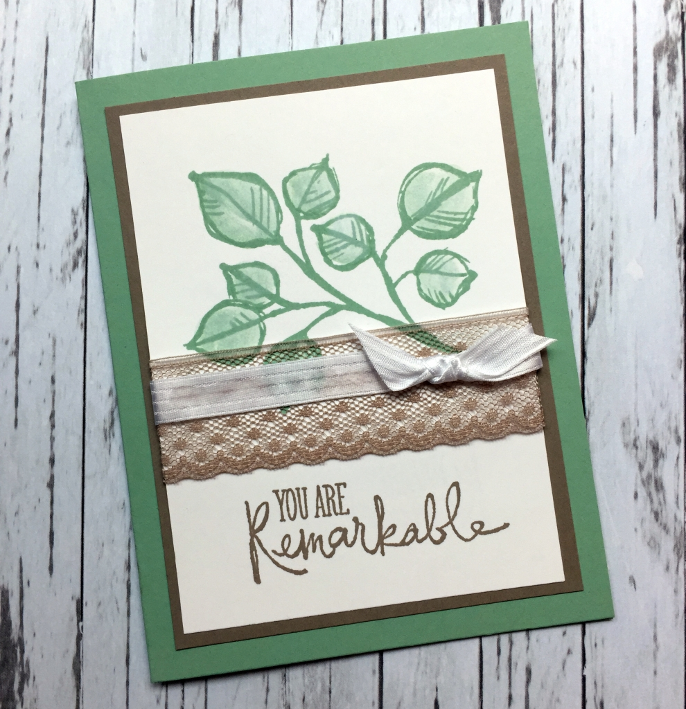 You are remarkable card
