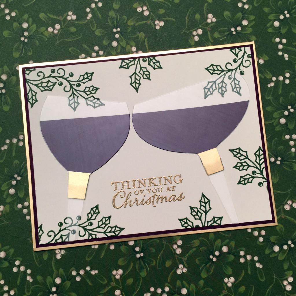 inking royalty bundle blog hop wine card a