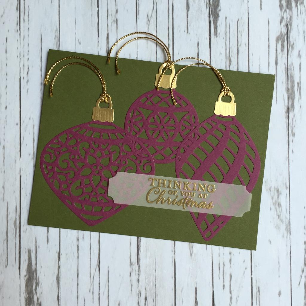 ornament card a