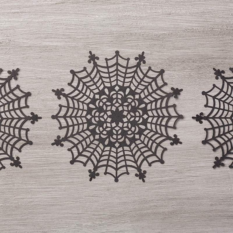 Spider Web Doilies b