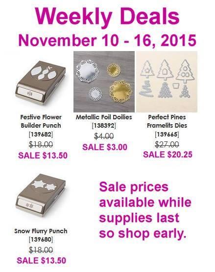 weekly deals Nov 10-16, 2015