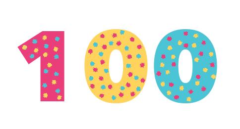 100 spots