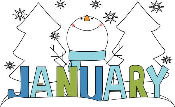 january w snowman