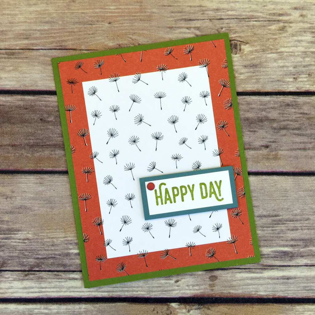 HB match up paper designs card d