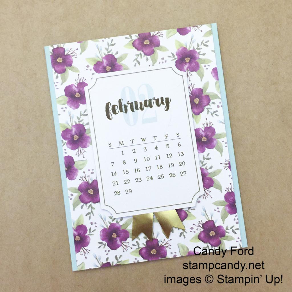 PP calendar card feb b