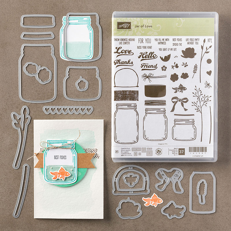 Get the Jar of Love bundle by Stampin' Up! #stampcandy