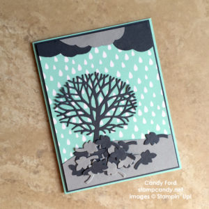 Click through to stampcandy.net for details! Thoughtful Branches bundle Beautiful Branches bundle, Sprinkles of Life stamp set, A Little Fozy DSP stack, Smoky Slate, Basic Gray, Pool Party, handmade card, cardmaking, crafts, diy, Stampin