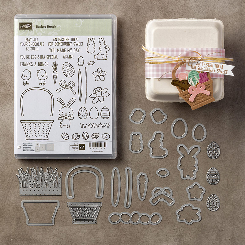 Basket Bunch Bundle by Stampin' Up! #stampcandy
