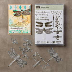 Dragonfly Dreams bundle, stamp set, Detailed Dragonfly Thinlits Dies, Stampin' Up! #stampcandy