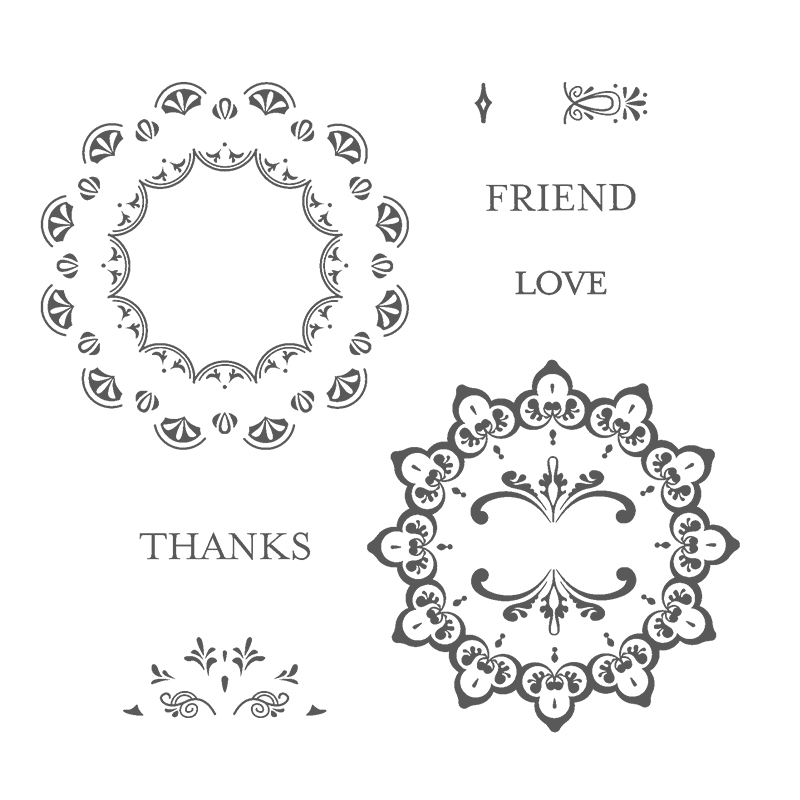 Make a Medallion stamp set © Stampin' Up! #stampcandy