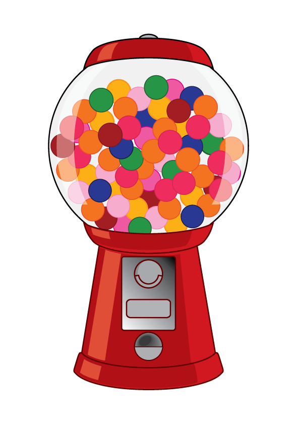 Check out my Gum Ball Rewards Program! #stampcandy