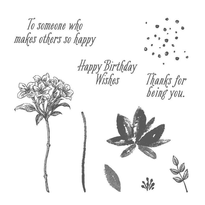 SALE-A-BRATION ENDS TODAY! Get what you need to make this sweet pink birthday card. Stampin' Up! #stampcandy