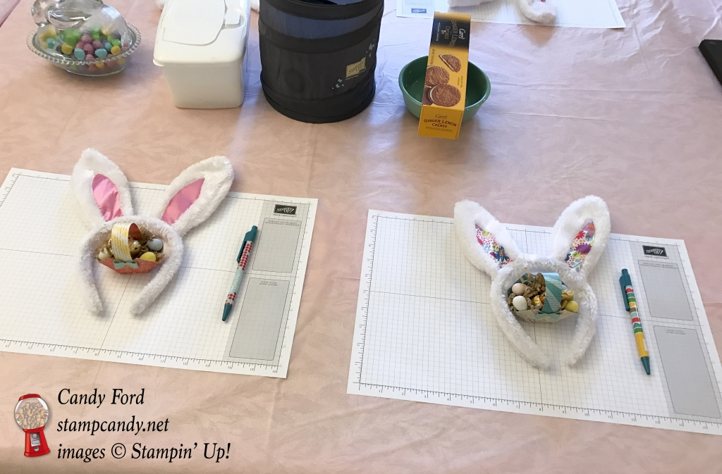 Candy Hearts March 2017 Team Meeting, Stampin' Up! #stampcandy