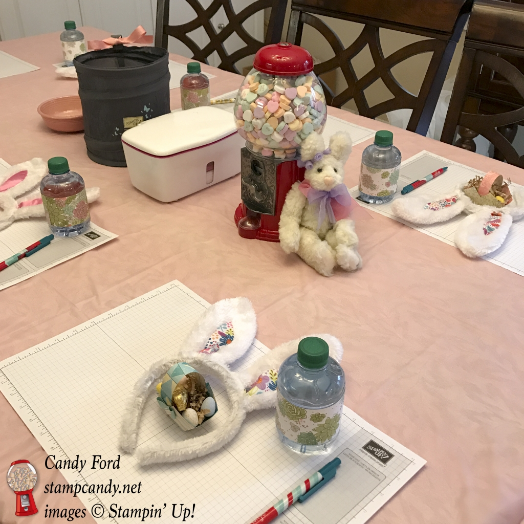 #candyhearts team meeting March 2017, Stampin' Up! #stampcandy