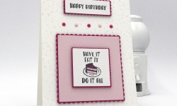 LAST DAY to get FREE Designer Tee stamp set by Stampin' Up! Layering Squares Framelits Dies, Enamel Shapes #stampcandy