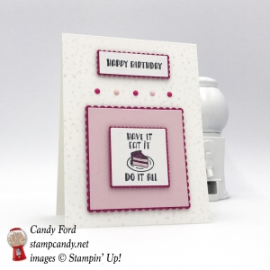LAST DAY to get FREE Designer Tee stamp set by Stampin