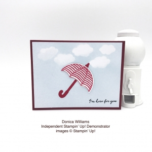 Check out this sweet card made by Donica Williams using the Weather Together bundle by Stampin