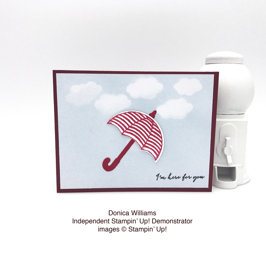Check out this sweet card made by Donica Williams using the Weather Together bundle by Stampin' Up! #stampcandy