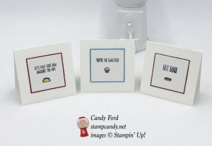 Use Tasty Trucks without the truck! Stampin