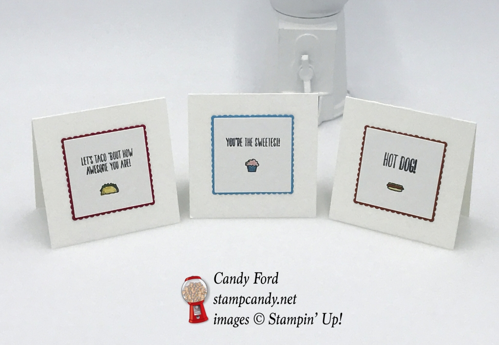 Use Tasty Trucks without the truck! Stampin' Up! #stampcandy