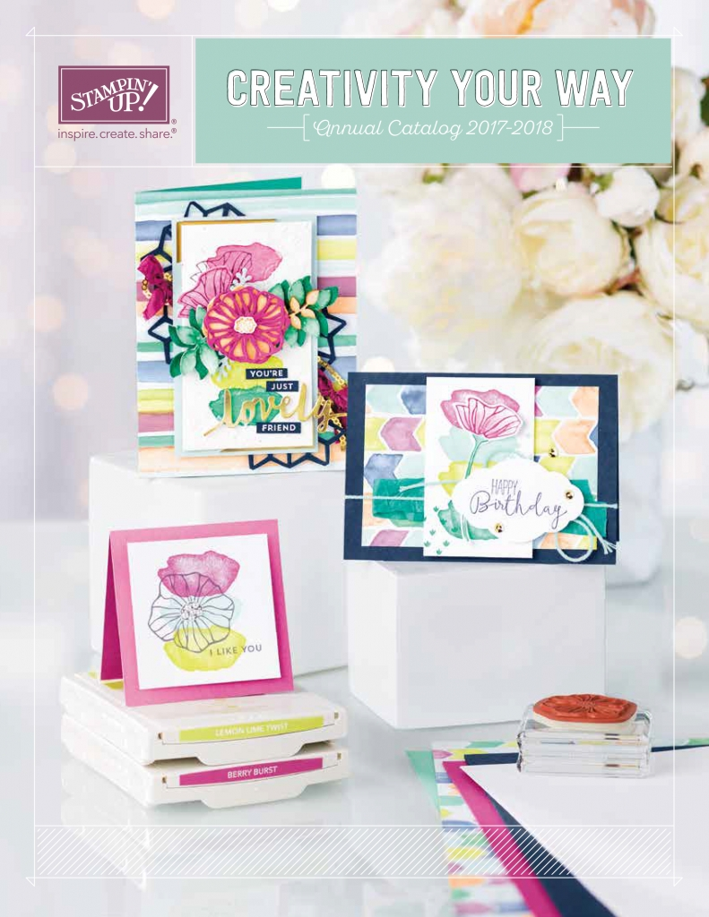 Stampin' Up! 2017-2018 Annual Catalog #stampcandy