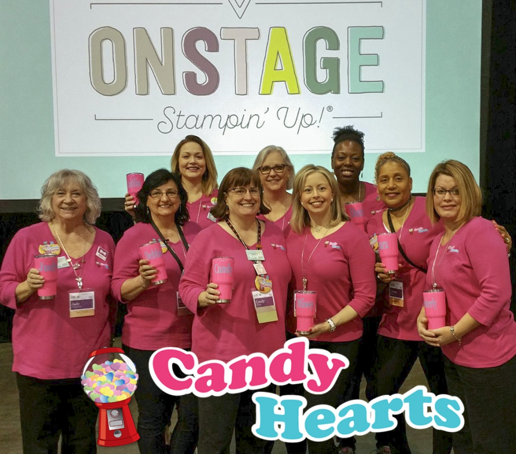 Nine of us attended OnStage Savannah, April 8, 2017 Stampin' Up! #stampcandy