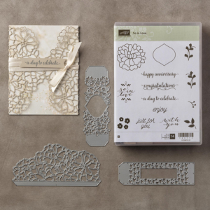 This is the exquisite So In Love bundle by Stampin' Up! #stampcandy
