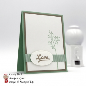 Love card made with Jar of Love stamp set by Stampin