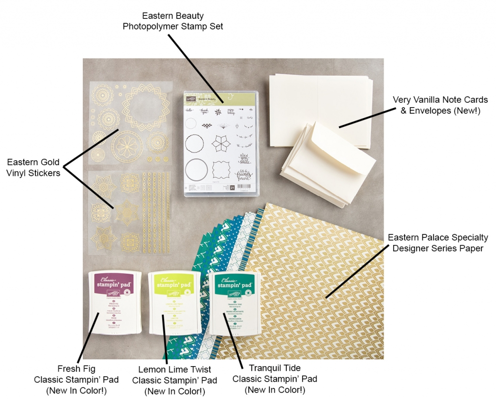 Eastern Palace Starter Bundle by Stampin' Up! #stmpcandy