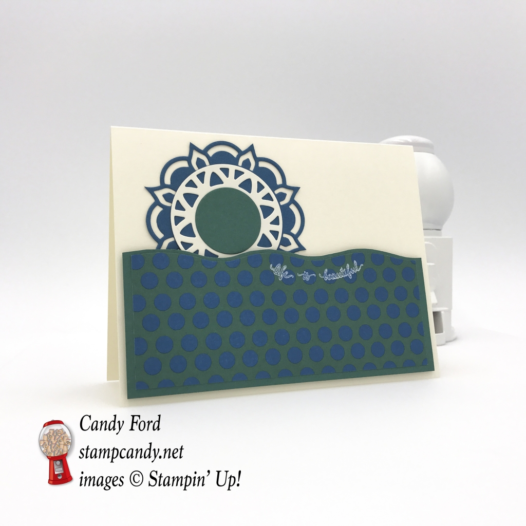 Eastern Palace suite beauty stamp set medallions thinlits dies dsp stampinup candy ford stampcandy b