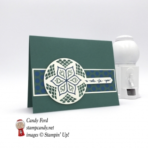 Check out this second card from my Eastern Palace Beauty Medallions one sheet wonder! Stampin