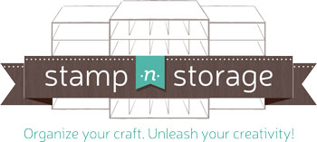Organize your craft space with Stamp-n-Storage #stampcandy
