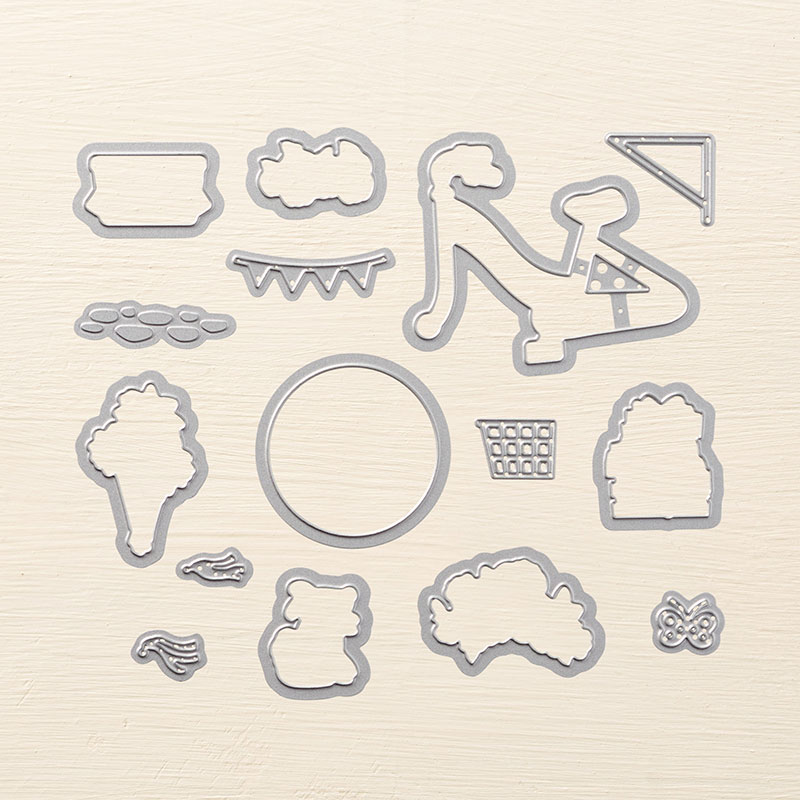 Build a Bike Framelits Dies coordinate with the Bike Ride stamp set by Stampin' Up! #stampcandy