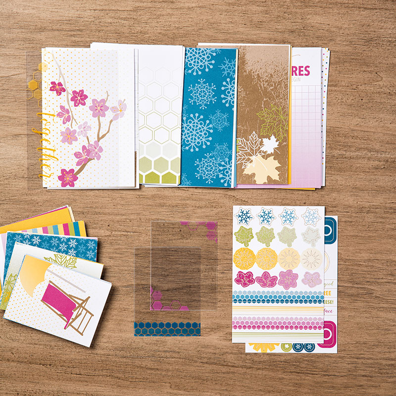 My favorite new Stampin' Up! products #stampcandy Color Theory card pack