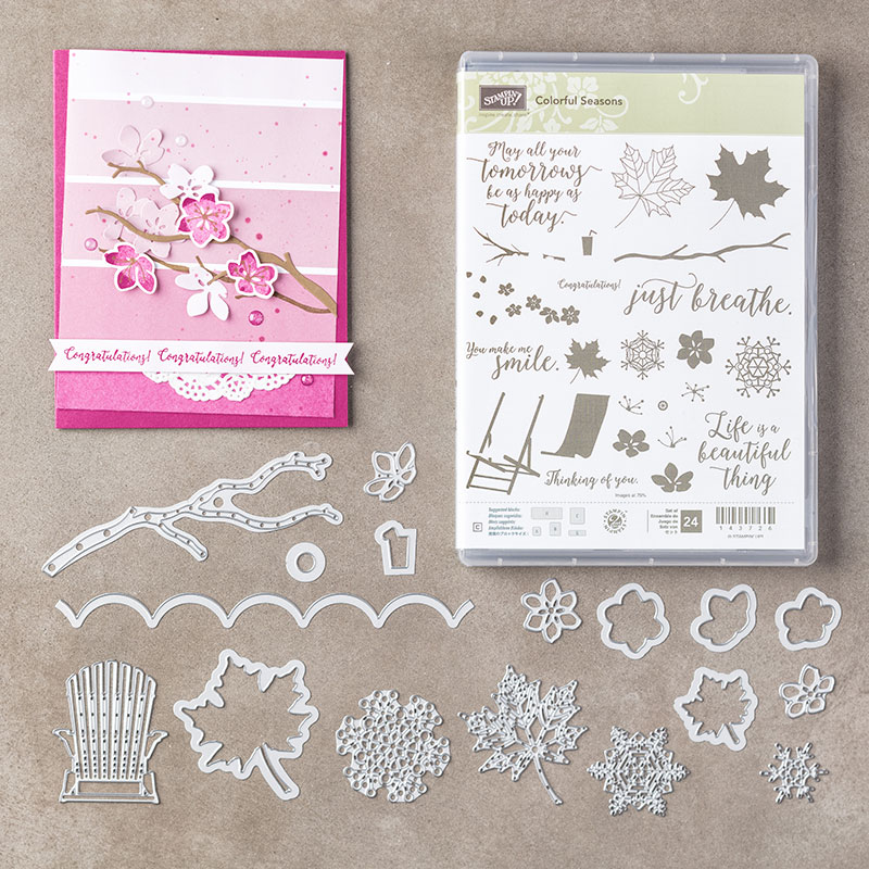 My favorite new Stampin' Up! products #stampcandy Colorful Seasons Bundle