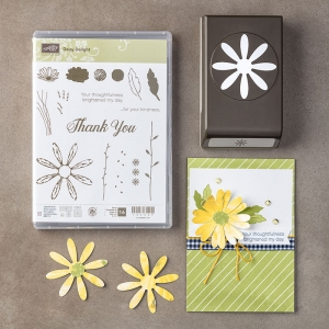 Daffodil Delight 1:4 Double Stitched Ribbon by Stampin