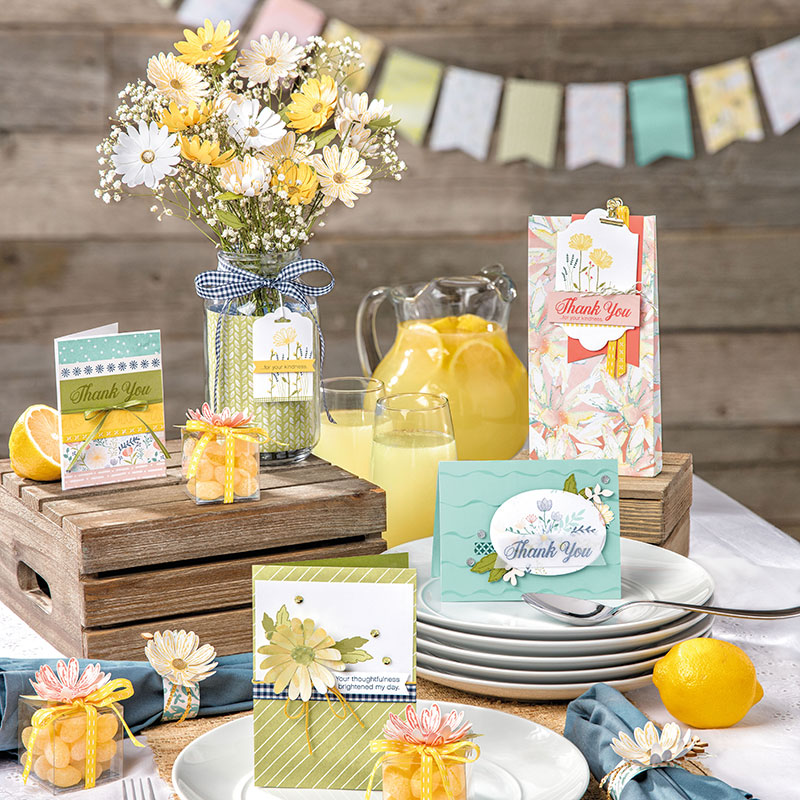 Delightful Daisy Suite by Stampin' Up! #stampcandy