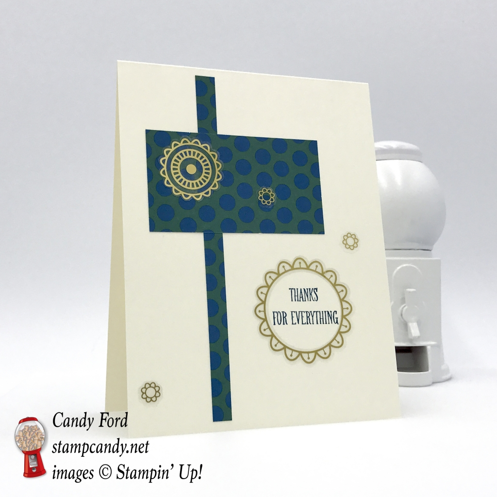 Eastern Palace Specialty Designer Series Paper, At Home with You stamp set, Eastern Gold Vinyl Stickers by Stampin' Up! One sheet wonder 5 of 12 #stampcandy