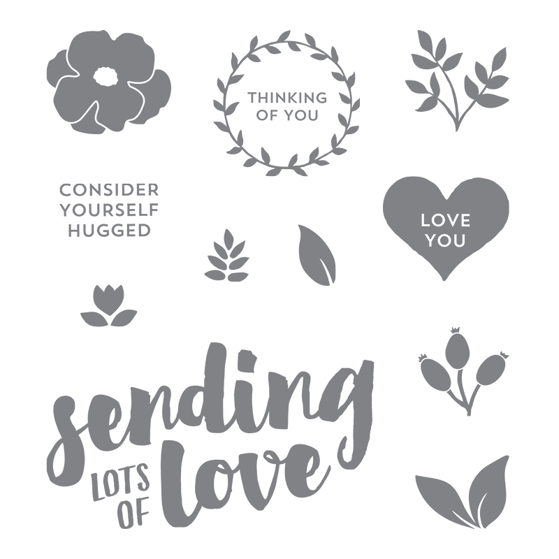 My favorite new Stampin' Up! products #stampcandy Lots of Love stamp set