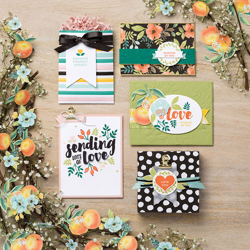 My favorite new Stampin' Up! products #stampcandy Whole Lof of Lovely Suite