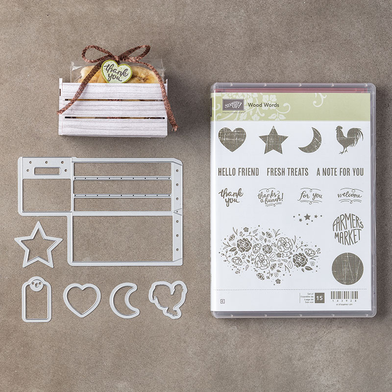 My favorite new Stampin' Up! products #stampcandy Wood Words Bundle