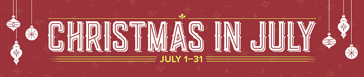 Christmas in July promotion, Stampin' Up! #stampcandy